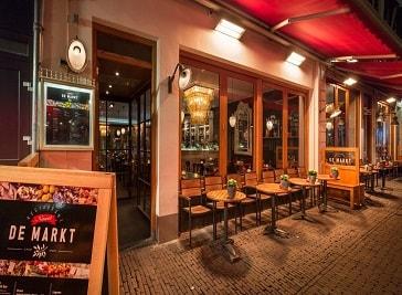 Restaurant De Markt in Utrecht